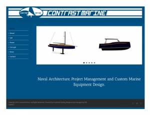 contrastmarine.com is live!